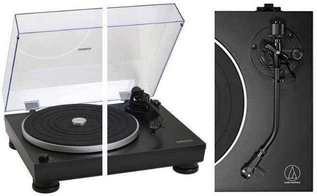 Giradiscos marca Audio-Technica modelo At-LP5X