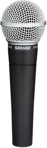 microfono Shure SM58 para cantar con cable